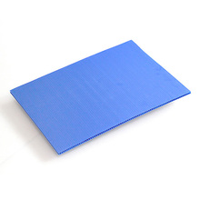 High quality corrugated hollow pp plastic for decorative dry erase board