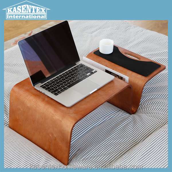 bent wood laptop desk