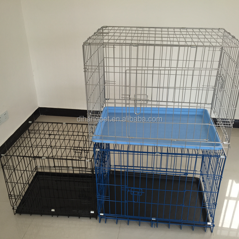 Large Iron Dog Cage , Fencing Dog Kennel , Wholesale Dog Cage