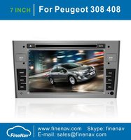 A8 Chipest 3G wifi Car DVD Player For Peugeot 308 408 2009-2012 With Stereo GPS FM/AM Radio Bluetooth TV iPod FREE Map