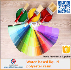 Water based polyester resin marble adhesive