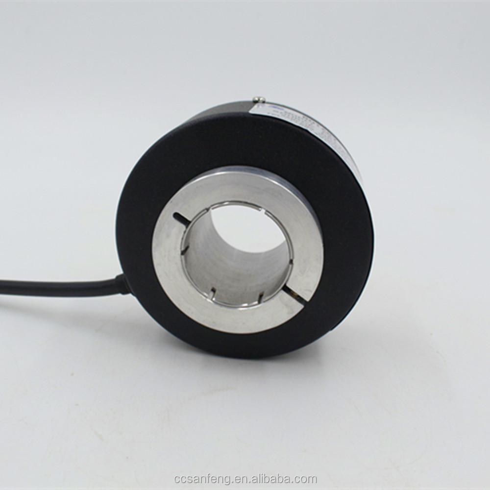 78mm 44mm PKT78 series elevator and lift incremental hollow shaft rotary encoder for elevator and lift using