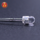 High quality lighting sources blue 3mm round led diode