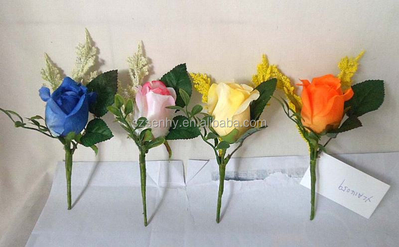 Colorful big rose flower for home decorations
