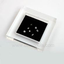 Deluxe loose diamond display tray with cover (DK21648)