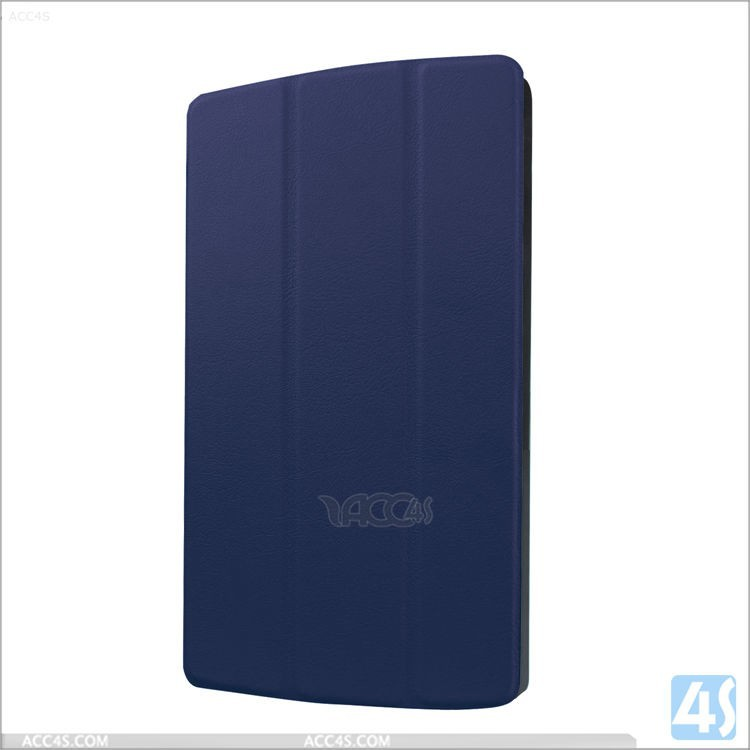 Dark Blue PU Leather Flip Case Cover Stand For LG G Pad 8.3 X
