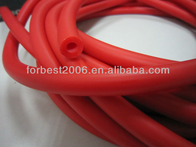 smooth amber latex tubing for laboratory use