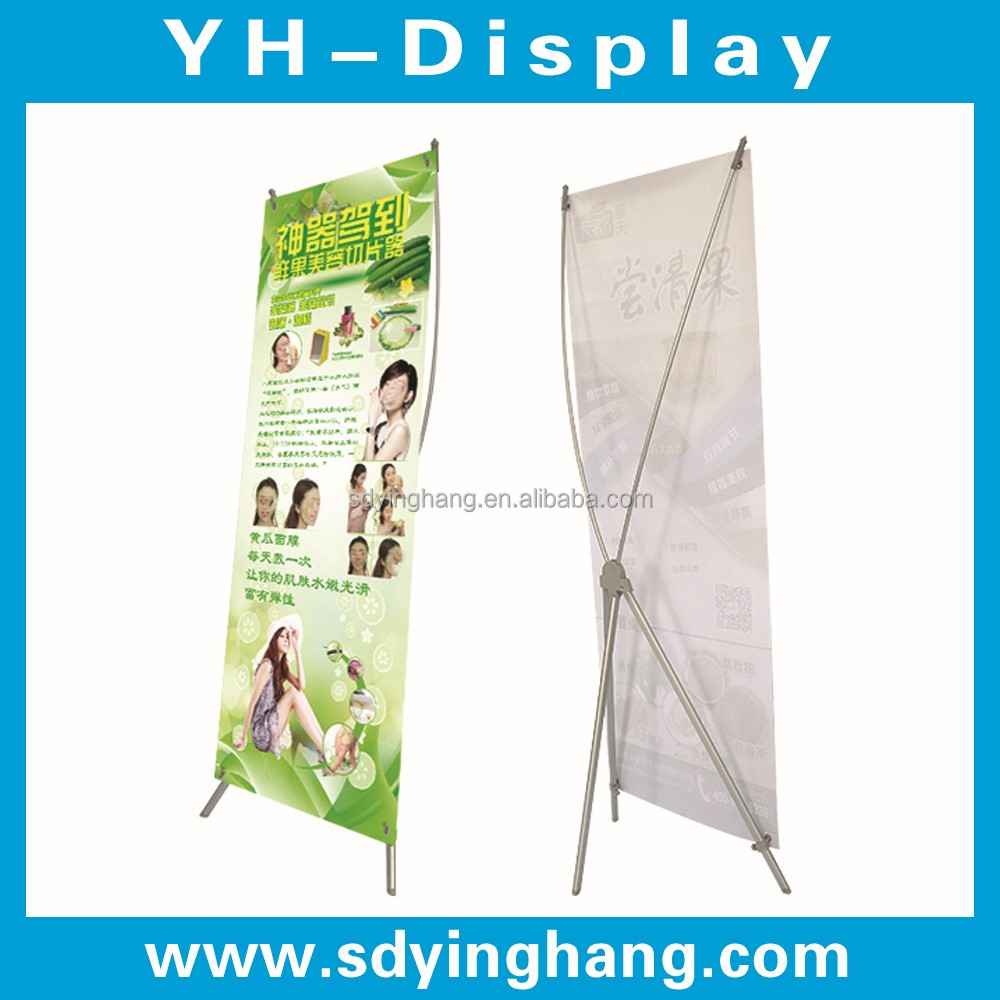 European Style X Banner Size , Advertising X Banner Stand , Display X Banner