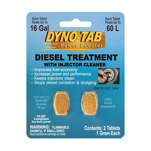 Dyno-tab Diesel Treatment with Injector Cleaner