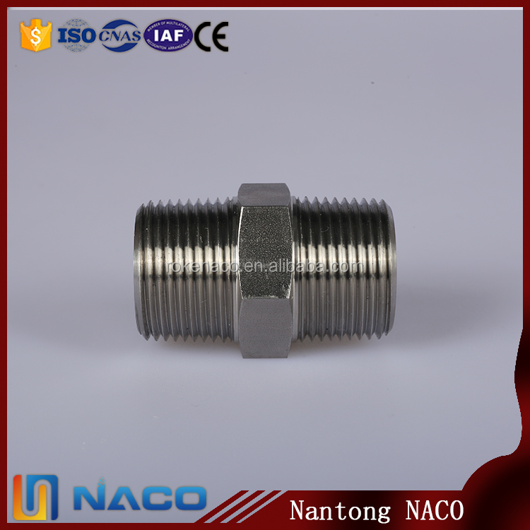 Butt Welded Standard Lateral Reducing Tee Forged Concentric Swage Nipple Pipe Fitting
