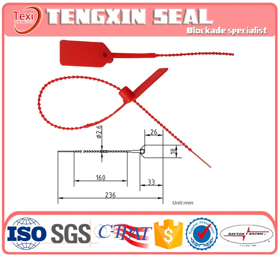 Chinese factory, mechanical high quality plastic seals