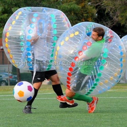Funny body bumper ball/ bubble soccer suits / inflatable bumper ball for sale