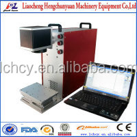 compact fiber laser marking machine for laser marking metals & plastics