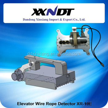 Lifting wire rope inspection