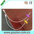 Top precious for infusion set needle assembly production line