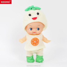 8.5inch/20cm fruit baby alive doll for 2+ years old that looks like a living baby