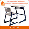 Hot sale campus furniture student desk and table set