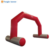 Durable advertising inflatable entrance arch model