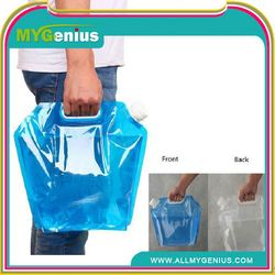 Foldable liquid bag with spout ,H0Teuk expandable water container