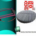 wire mesh demister pads for liquid and gas