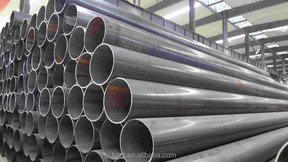 Construction ERW weld steel pipe