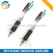 4 In 1 customized Plastic Ball Point Pens