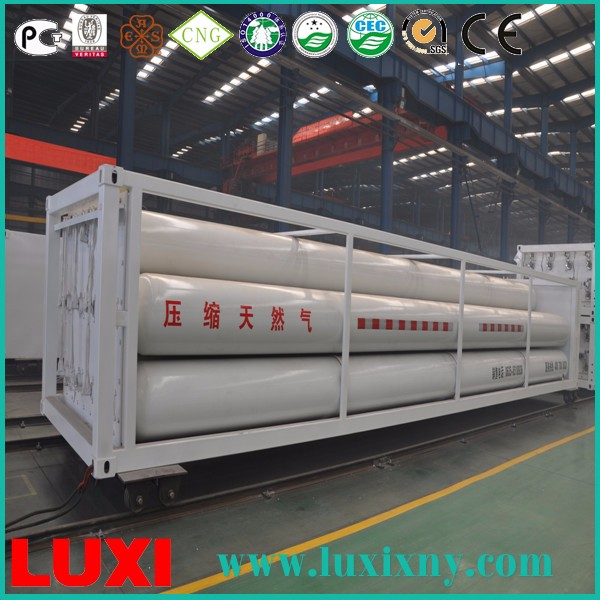 Cryogenic Liquid Natural Gas Tank Steel Cylinder Cng Container , Beer Storage Tank For Sale