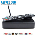 Satellite TV Receiver AZFree DUO + LNB + USB WiFi FTA DVB-S/S2 with Free IKS SKS IPTV for Brazil / Chile / Peru / South America