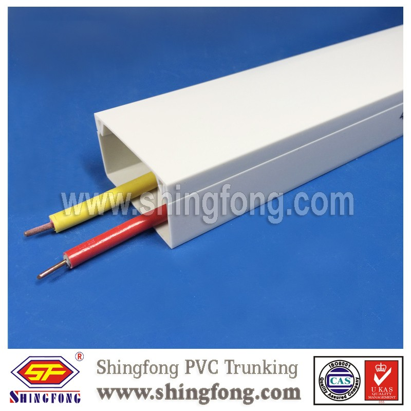 pvc pipe sizes plastic pvc electrical cable line trunking