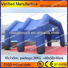 HOT-selling durable and nice inflatable pneumatic tent