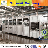 Sunswell Fountain Palm brand mineral water plant