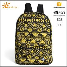 Promotional Hot Style Durable casual Lightweight Waterproof backpack high school girl bag