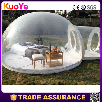 most popular transparent inflatable bubble tent for camping