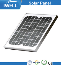 IWELL SPM10W 10W mono solar panel efficiency for solar modules