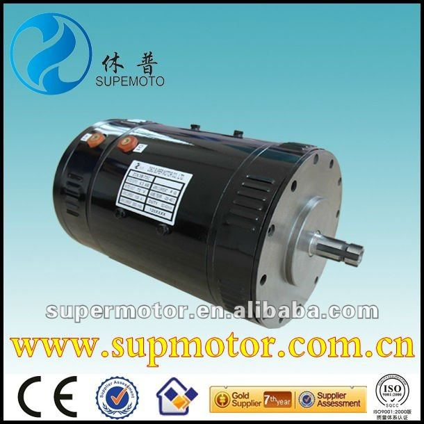 72v 6.3kw electric car engine,ev dc motor