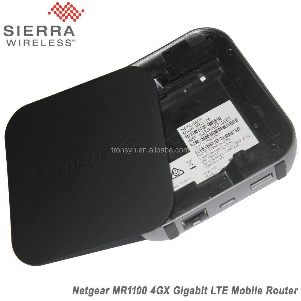 Netgear MR1100 1GB Cat16 4GX Gigabit 4G LTE Mobile Sim Card Router For LTE,WiFi And Ethernet Connection