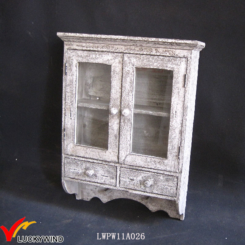 shabby chic french provincial furniture wall display cabinet