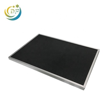Replacement Honeycomb Activated Carbon Granule Air Filters with Aluminum Alloy Frame