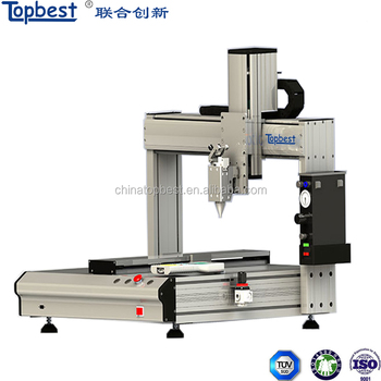 Automatic Glue Dispensing Machine Topbest 3 axis Glue Dispenser Machine