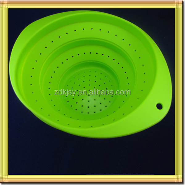 microwave safe silicone folding portable cheap wholesale baskets