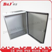 steel electronical enclosure/outdoor control box/electrical control cabinet