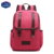 Lightweight Canvas Leather Travel Backpack Rucksack School Bag