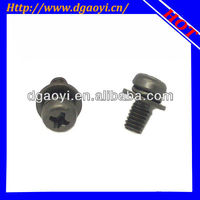 nickel plated cross recessed pan head sems and combination screws