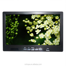 China manufacture high brightness 7 inch car tv monitor with usb