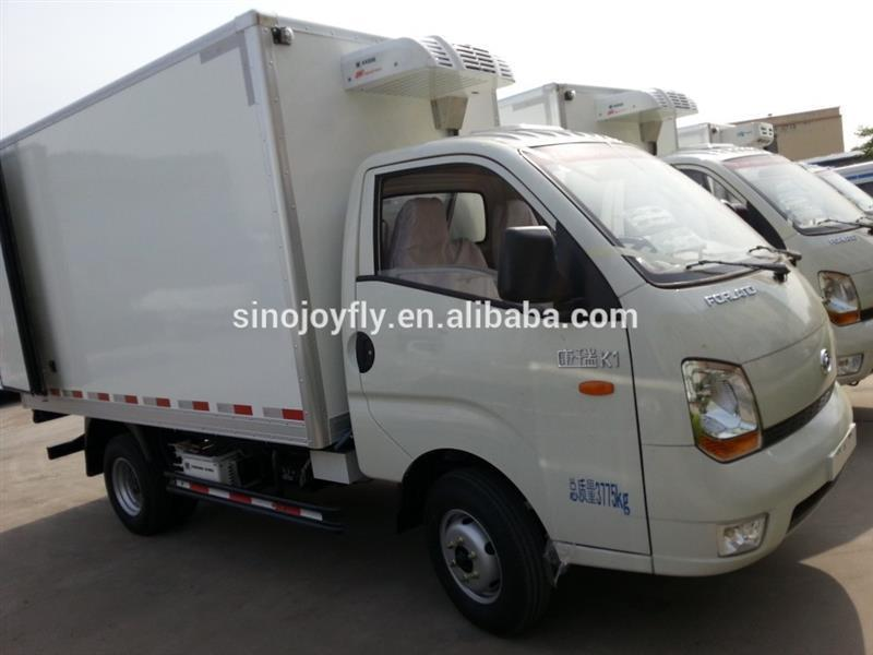 mini trailer for camping meat hook refrigerated truck manufacturer