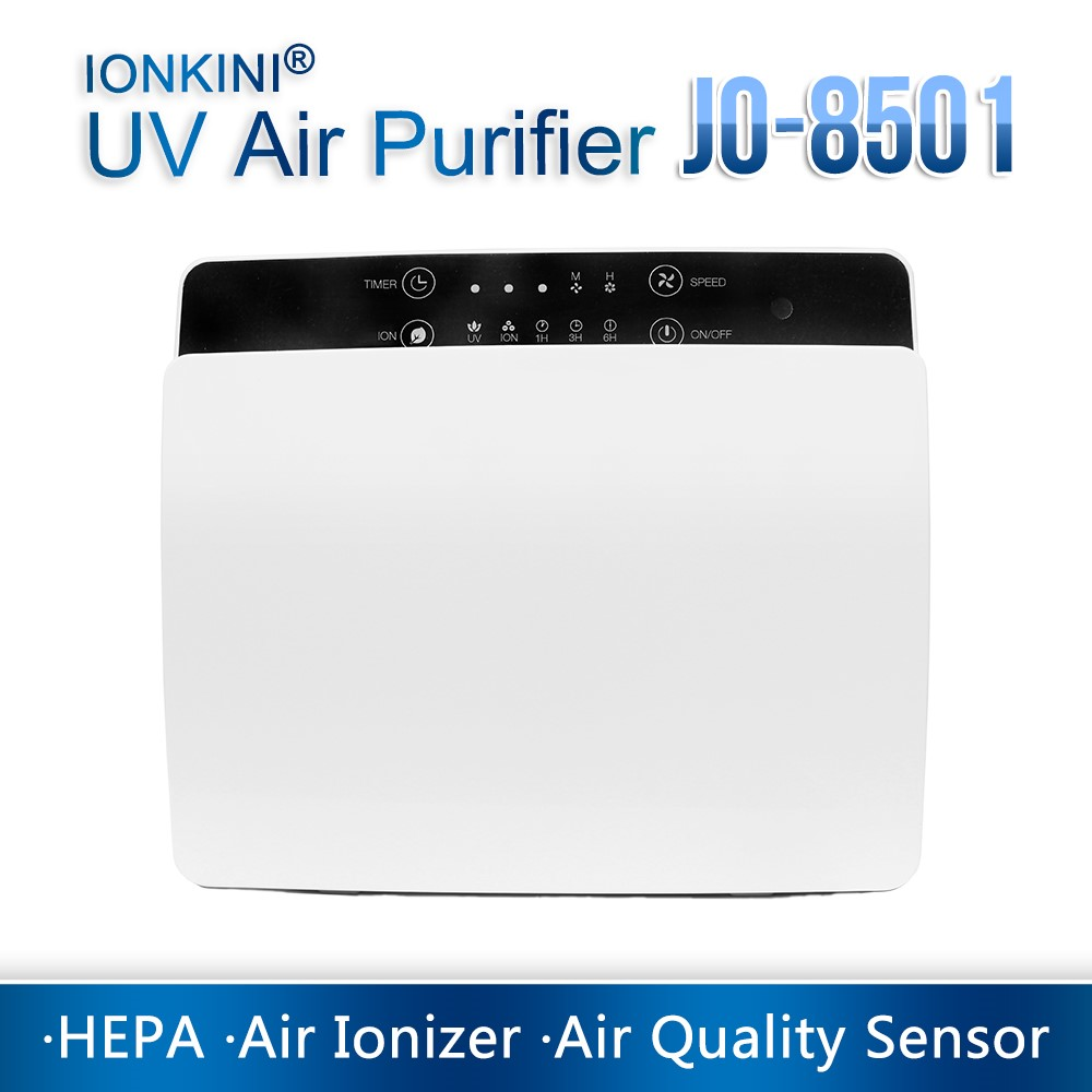 Novelty Home Air Purifier With UV Lamp JO-8501 For Home And Office (CE, ROHS)