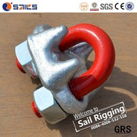 Drop forged wire rope clips/china clamps