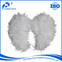 Wholesale Strict Quality Control Hand-made Party Wedding Christmas Decoration White Feather Angel Wing