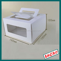 PVC windows art paper Cupcake boxes