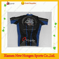cycling jersey and bib shorts